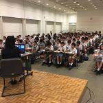 6年 広島平和学習 語り部さんの講話・本川小学校見学