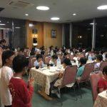富士林間学校 第一日目夕食