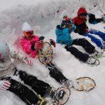 雪の学校 かんじき体験を行いました