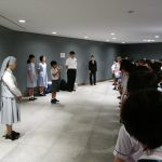 6年 広島平和学習 1日目 出発式