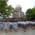 6年 広島平和学習 2日目 朝会・朝食