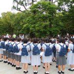 6年 広島平和学習 2日目 あおぎり集会・資料館見学