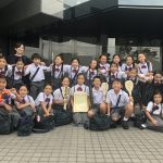 聖歌隊NHKコンクール地区予選 金賞受賞!!