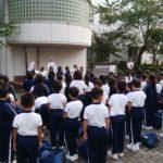 3年富士林間学校 閉校式