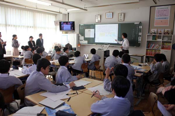 授業参観 高学年