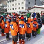 雪の学校 スキーレッスンが始まりました